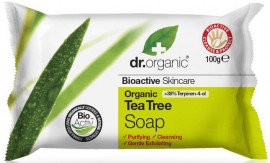 Dr. Organic Tea Tree Soap, 100gr