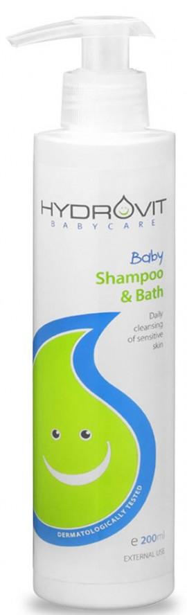 Hydrovit Baby Shampoo & Bath, 200ml