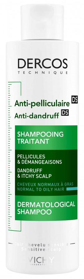 Vichy Dercos Anti-Dandruff Normal/ Oily Hair, 200ml