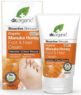 Dr. Organic Manuka Honey Foot Cream, 125ml