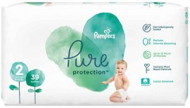 Pampers Pure Protection Νο2 (4-8Kg), 39 Τεμάχια