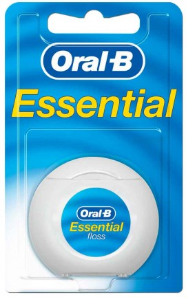 Oral-B Essential Floss Κηρωμένο, 50m