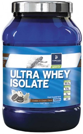 My Elements Ultra Whey Isolate Cookies & Cream, 1Kg