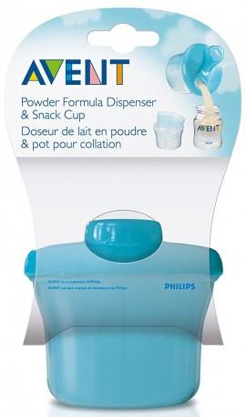 Phillips Avent Δοχείο Γάλακτος Σε Σκόνη 3 Δόσεις SCF135/06, 1 Τεμάχιο