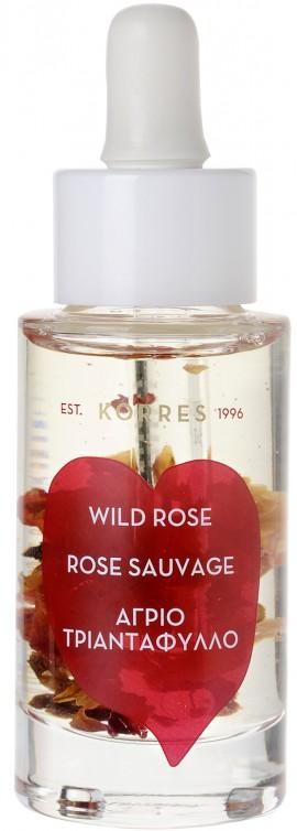Korres Λάδι Προσώπου Άγριο Τριαντάφυλλο, 30ml