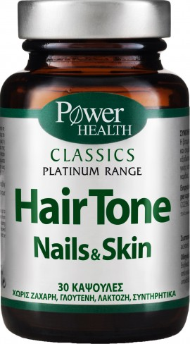 Power Health Platinum Hair Tone Nail & Skin, 30 Κάψουλες