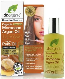 Dr. Organic Moroccan Argan Oil Pure, 50ml