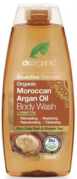 Dr. Organic Moroccan Argan Oil Body Wash, 250ml
