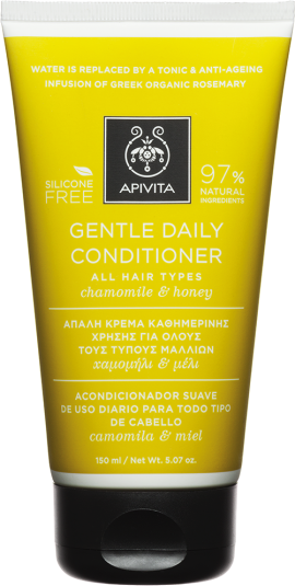 Apivita Gentle Daily Conditioner Mε Χαμομήλι & Μέλι, 150ml