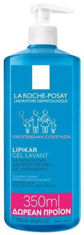 La Roche- Posay Lipikar Gel Lavant, 750ml