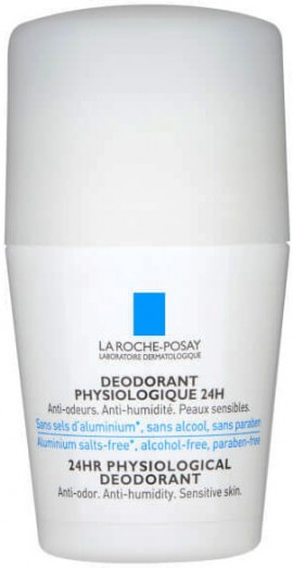 La Roche- Posay Deodorant Physiologique Roll- On 24H, 50ml