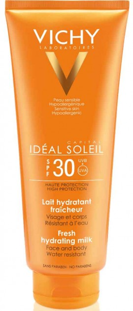 Vichy Ideal Soleil Fresh Hydrating Milk SPF30, 300ml