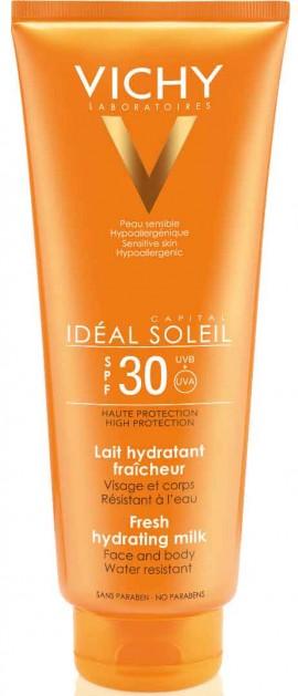 Vichy Ideal Soleil Fresh Hydrating Milk SPF30, 300ml
