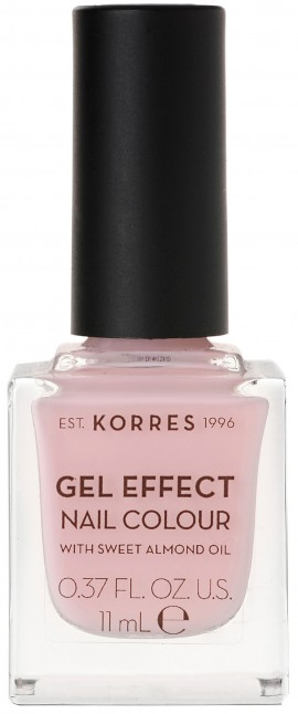 Korres Gel Effect Nail Color 05 Candy Pink, 11ml