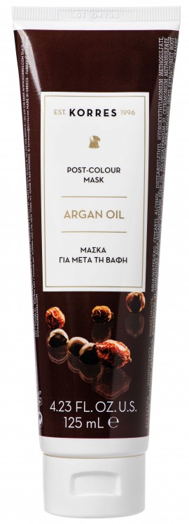 Korres Post-Colour Mask Argan Oil, 125ml
