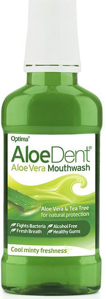 Optima AloeDent Mouthwash Fluoride Free, 250ml