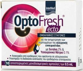 Intermed Optofresh Ecto Eye Drops, 10x 0.5ml