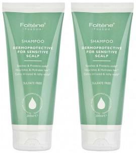 Foltene Shampoo Sensitive Scalp 1+1 Δώρο, 2x200ml