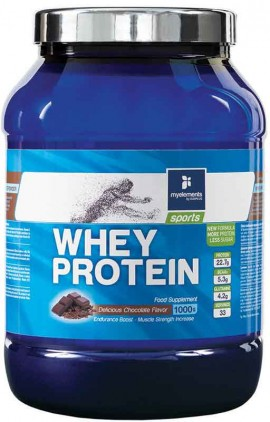My Elements Whey Protein Γεύση Σοκολάτα, 1000gr Powder
