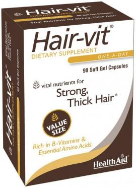 Health Aid Hairvit, 90 Κάψουλες