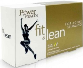 Power Health Fit & Lean, 30 Κάψουλες