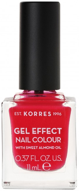 Korres Gel Effect Nail Color 19 Watermelon, 11ml