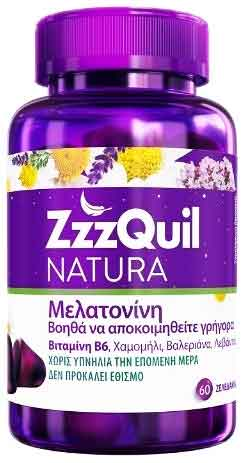 ZZZQUIL NATURA, 60 Ζελεδάκια