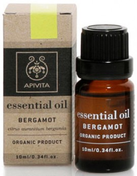 Apivita Essential Oil Περγαμόντο, 10ml