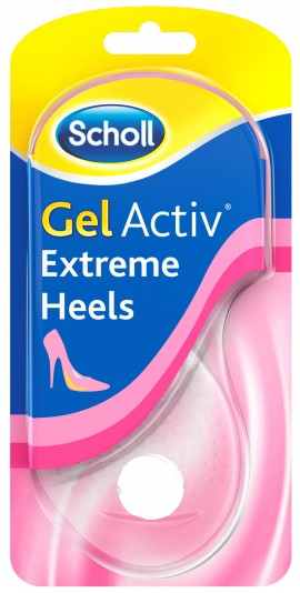 Scholl Gel Activ Extreme Heels, 1 Ζευγάρι (Nο.35- 40,5)