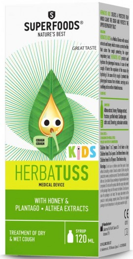 Superfoods Herbatuss Kids, 120ml