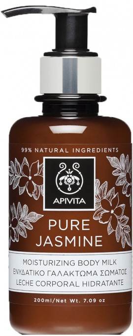 Apivita  Pure Jasmine Moisturising Body Milk,200ml