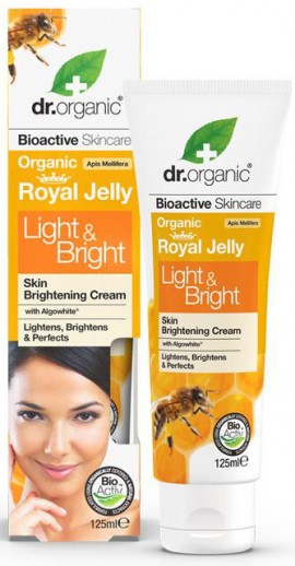 Dr. Organic Royal Jelly Light & Bright Cream, 125ml