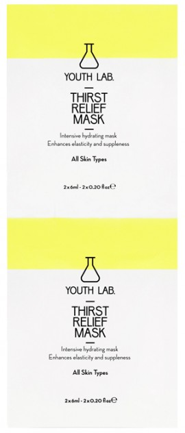 Youth Lab Thirst Relief Mask, 2x6ml