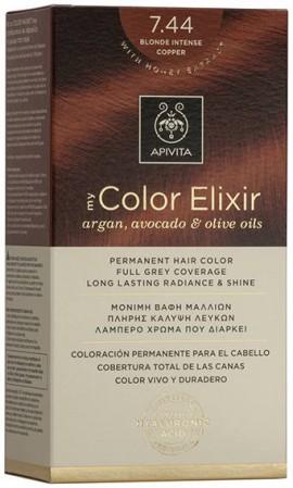 Apivita My Color Elixir 7.44 Ξανθό Έντονο Χάλκινο