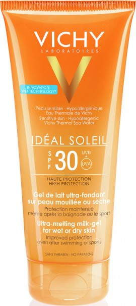 Vichy Ideal Soleil Ultra-Melting Milk Gel SPF30, 200ml