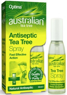 Optima Austalian Tea Tree Antiseptic Spray, 30ml