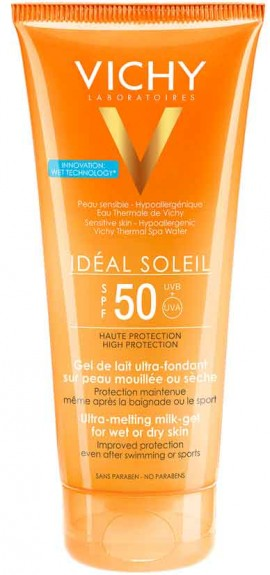 Vichy Ideal Soleil Ultra-Melting Milk Gel SPF50+, 200ml
