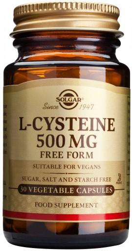 Solgar L- Cysteine 500mg, 30 Κάψουλες