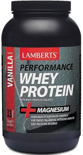 Lamberts Performance Whey Protein Vanilla Βανίλια, 1000gr