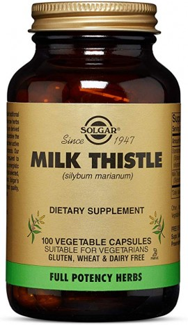 Solgar Milk Thistle, 100 Κάψουλες