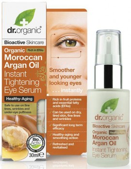 Dr. Organic Moroccan Argan Oil Tightening Eye Serum, 30ml