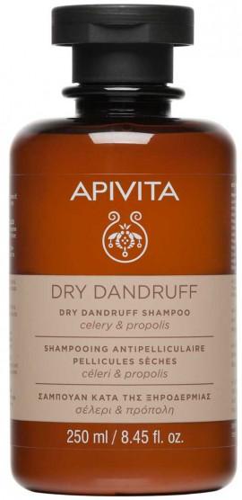 Apivita Dry Dandruff Σαμπουάν Με Σέλερι & Πρόπολη, 250ml