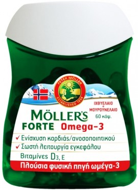Möller's Forte Omega 3, 60 Μαλακές Κάψουλες