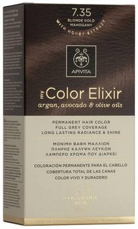 Apivita My Color Elixir 7.35 Ξανθό Μελί Μαόνι