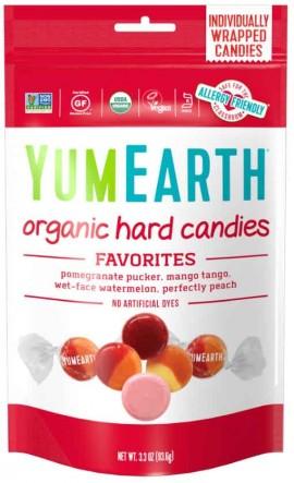 Yumearth Organic Hard Candies Βιολογικές Καραμέλες Φρούτων, 93.6gr