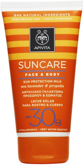Apivita Sun Care Face & Body SPF30, 150ml