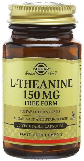 Solgar L- Theanine 150mg, 30 Κάψουλες