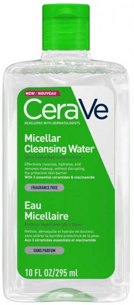 CeraVe Micellar Cleansing Water, 295ml