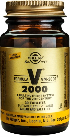 Solgar VM-2000™, 30 Ταμπλέτες