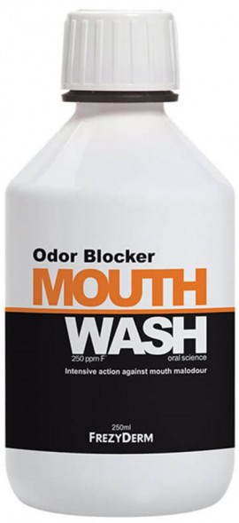 Frezyderm Odor Blocker Mouthwash, 250ml